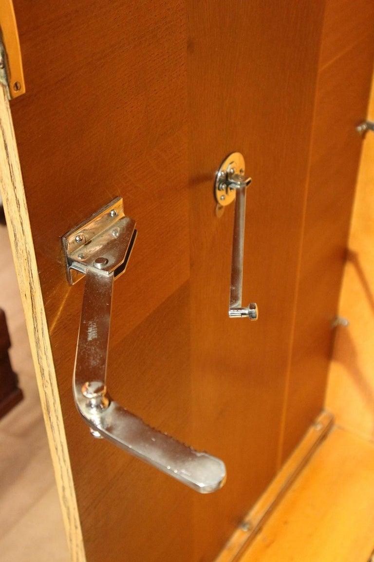 Art Deco Gentlemen Oak Compactom Wardrobe For Sale 2