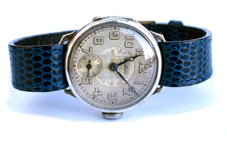 For your consideration is this rather rare Bedford silver hallmarked Art Deco watch is dated to 1929 which has connections in Chicago and New York (Bedford watch co). The overall condition is very good, very little wear and having been recently