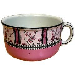 Art Deco Geometric Chamber Pot, Royal Staffordshire 'Spring'