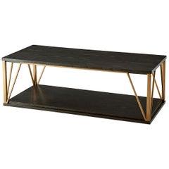 Art Deco Geometric Cocktail Table