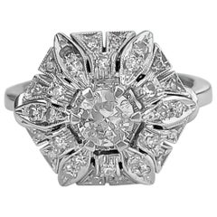 Art Deco Style GIA Certified 2.00 Carat Diamond Engagement Ring