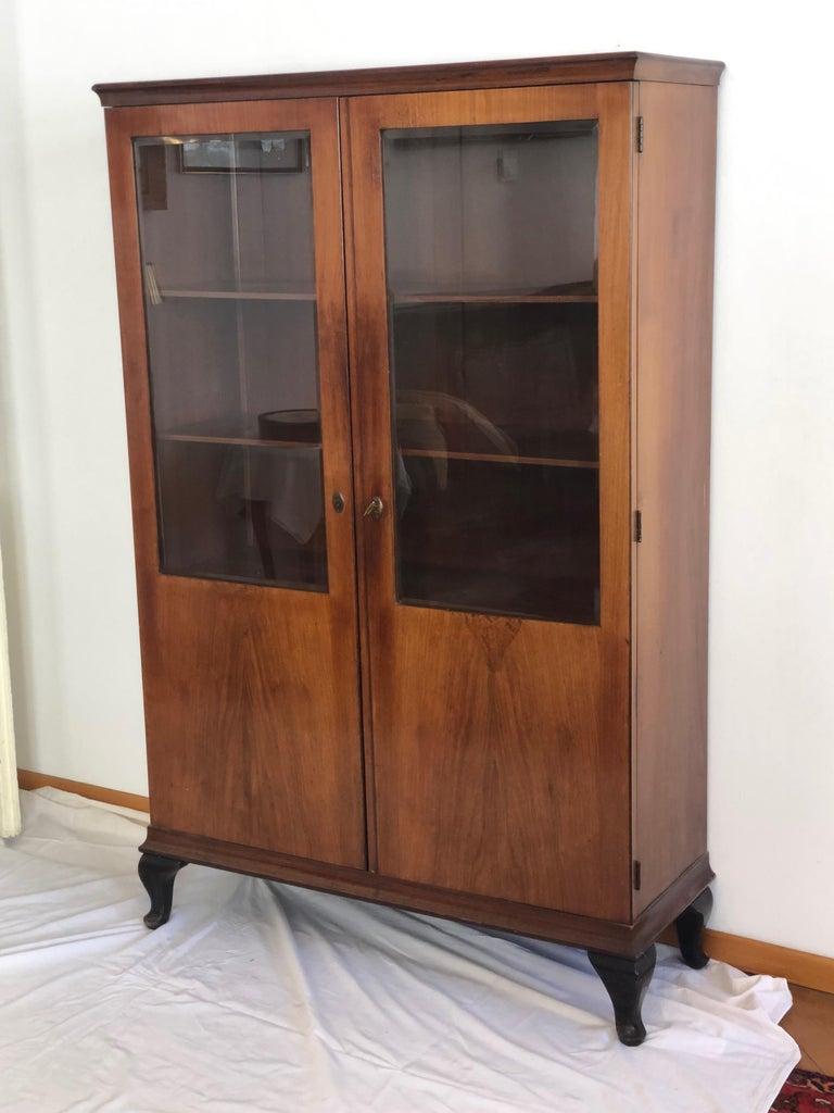 Art Deco Glass Cabinet, Vitrine For Sale 3