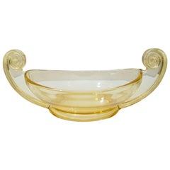 Art Deco Glass Compote