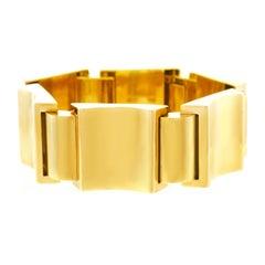 Art Deco Goldarmband