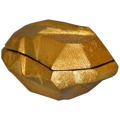 Art Deco Golden Rock Box by Michael Aram