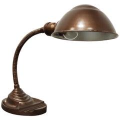 Art Deco Gooseneck Table Lamp by Eagle, 1950s
