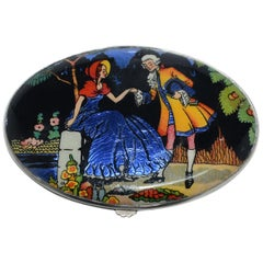 Art Deco Gwenda 1930s Art Deco Ladies Powder Compact