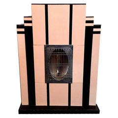 Art Deco Heater, Emulating a Fireplace, Miami, circa 1930
