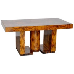 Art Deco in the Style Wood Table