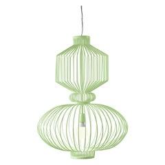 Art Deco, Industrial Dream Green Pendant Revolution Suspension Lamp