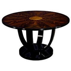 Art Deco Inspired Foyer Center Table by Carrocel