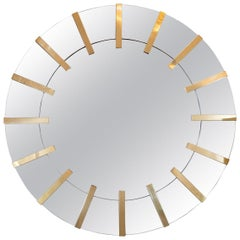 Art Deco Inspired Sunburst Mirror