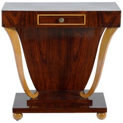 Art Deco Italian Console with Drawer, 1930