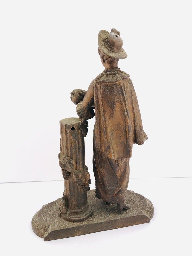 Art Deco Italian Sculpture in Bronze, 1950s For Sale 7