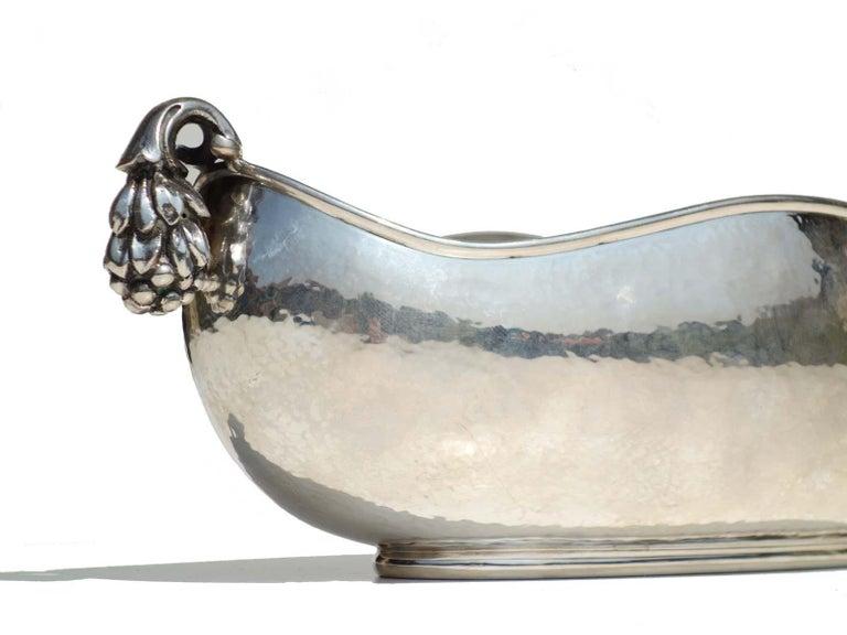 Art Deco Italian Silver Vase by Eros Genazzi, 1930s For Sale 2