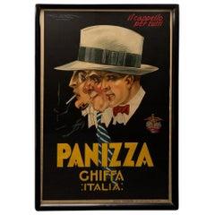 """Art Deco Italy Poster """"Panizza"""""""