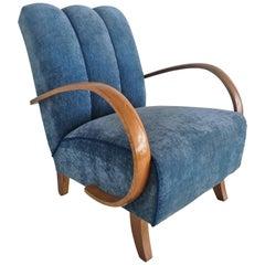 Art Deco J. Halabala Armchair