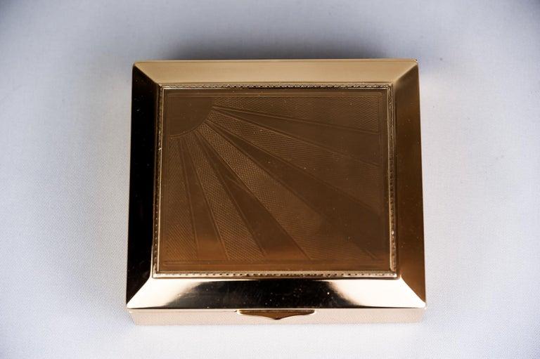 Art Deco Jewelry Box, 1920s For Sale 3