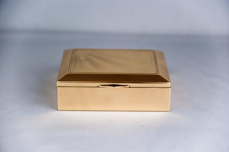 Austrian Art Deco Jewelry Box, 1920s For Sale