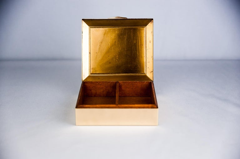 Early 20th Century Art Deco Jewelry Box, 1920s For Sale