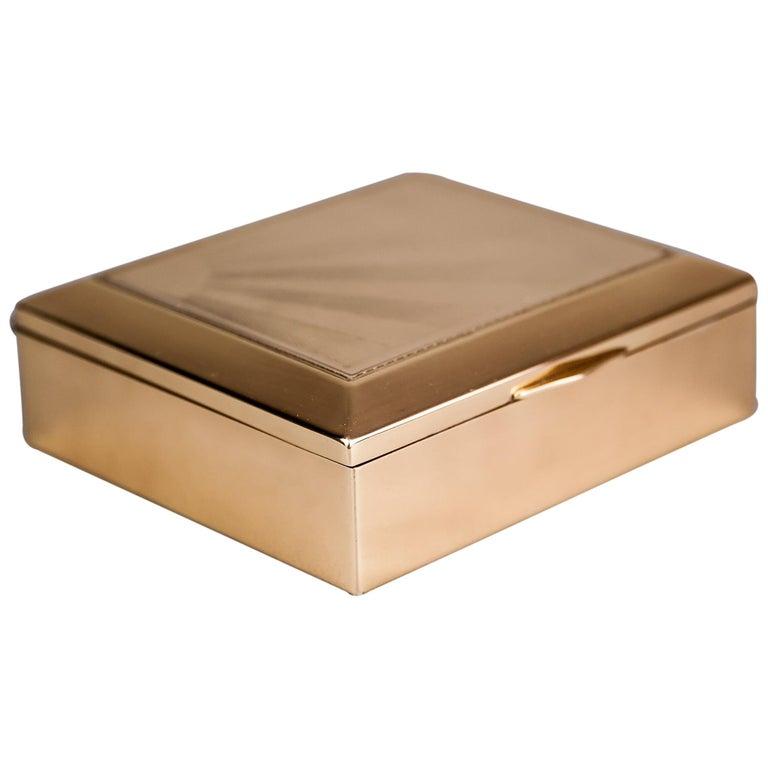 Art Deco Jewelry Box, 1920s For Sale