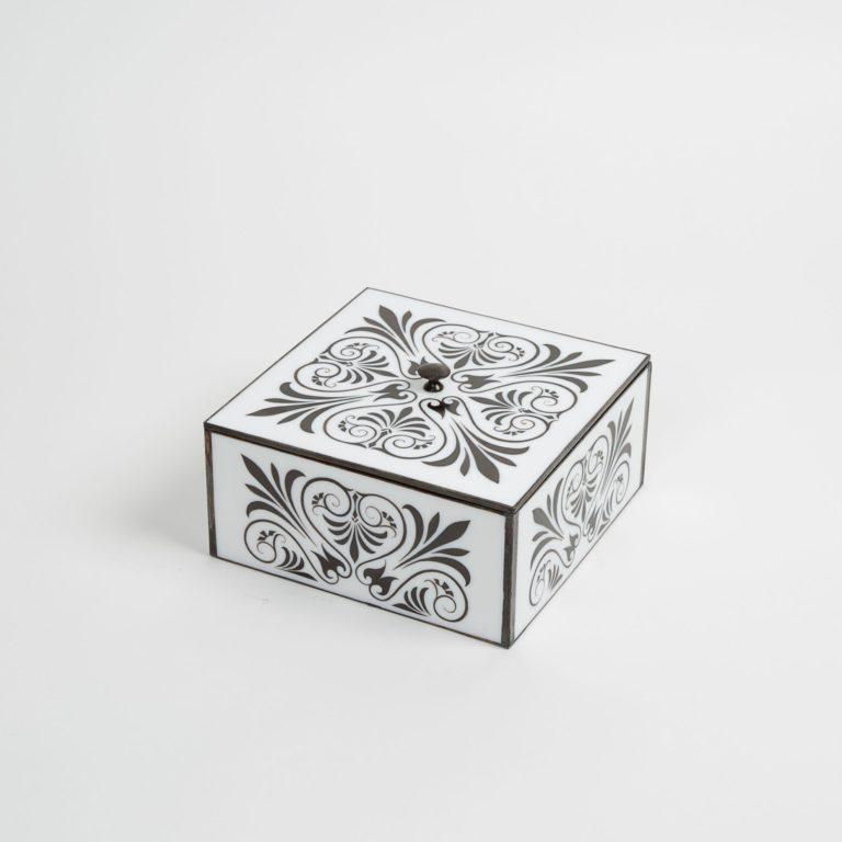 French Art Deco Style Jewelry Box For Sale