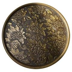 Art Deco Jewelry Trinket in Bronze, 1930s