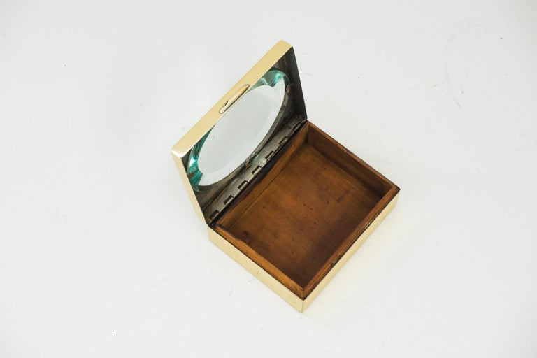 Art Deco Jewely Box, Vienna, circa 1920s In Good Condition For Sale In Wien, AT