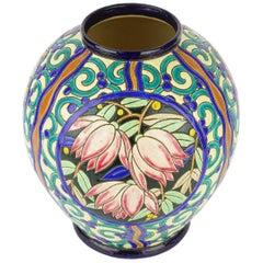 Art Deco Keramis Boch Vase