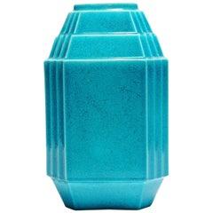 Art Deco Keramis Geometric Monochrome Boch Vase