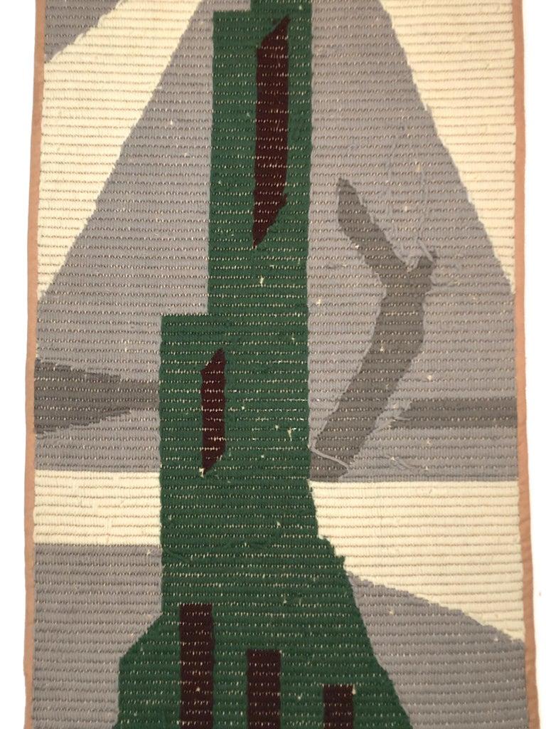 Art Deco Knit Tapestry Skyscraper Design For Sale 2