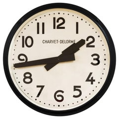 Art Deco Large French Electric Wall Clock
