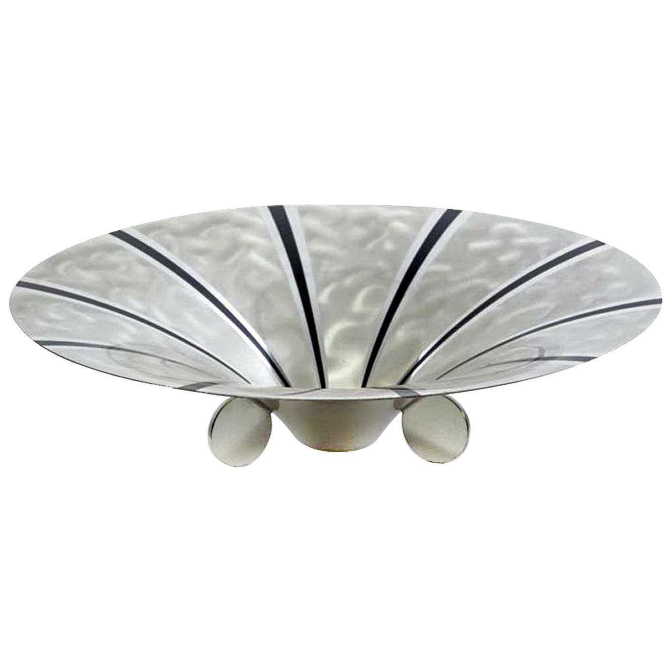 Art Deco Large WMF Ikora Silver Plated Bowl Center Piece