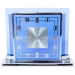 Art Deco Le Coultre Mantle Clock