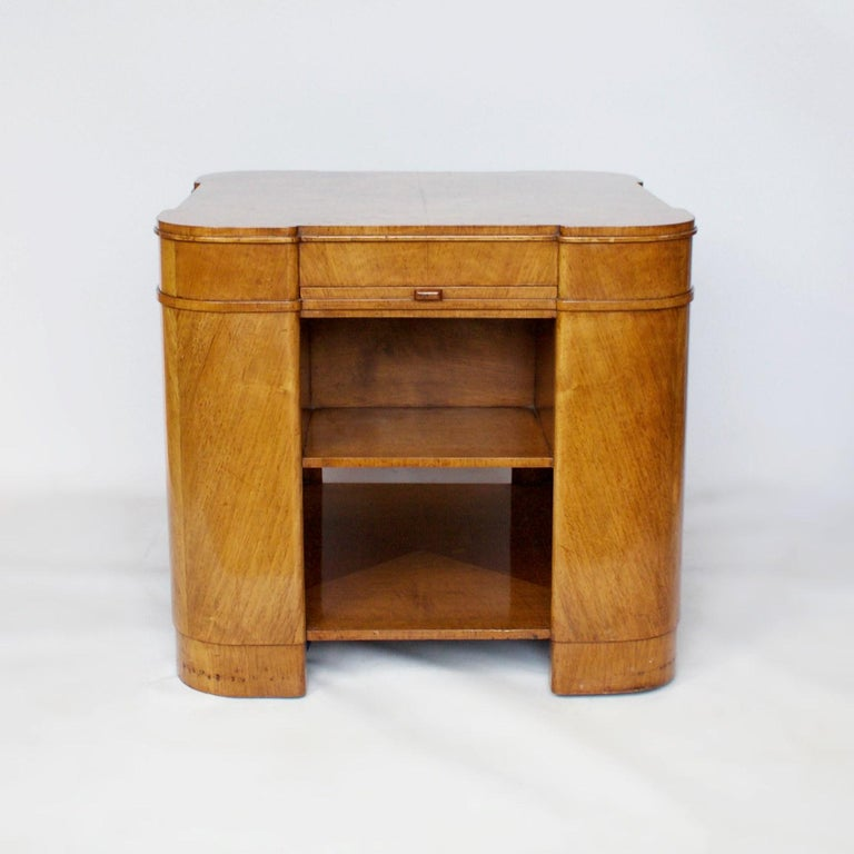 Art Deco Library Table, English, circa 1930 In Good Condition For Sale In Forest Row, East Sussex