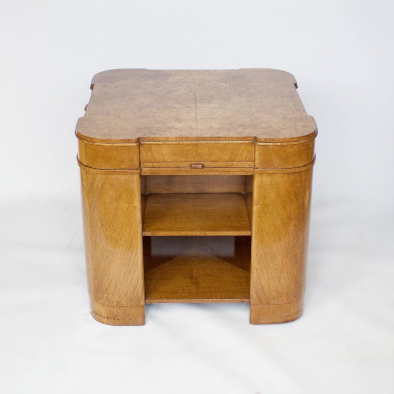 Mid-20th Century Art Deco Library Table, English, circa 1930 For Sale