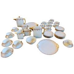 Art Deco Limoges Tea Coffee Dessert Set Service for 16