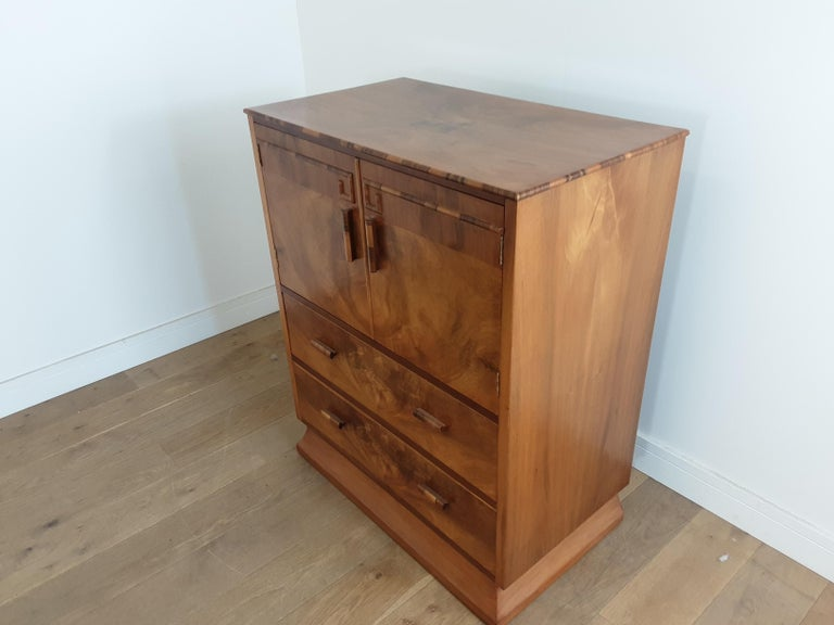 Art Deco Linen Press In Good Condition For Sale In London, GB
