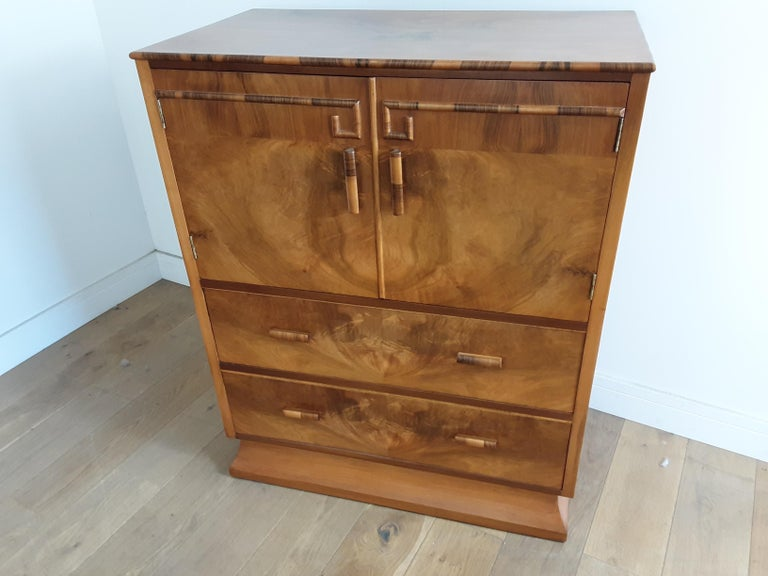Art Deco Linen Press For Sale 1