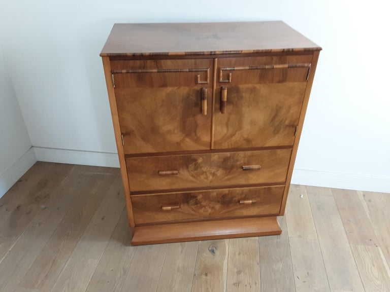 Art Deco Linen Press For Sale 2