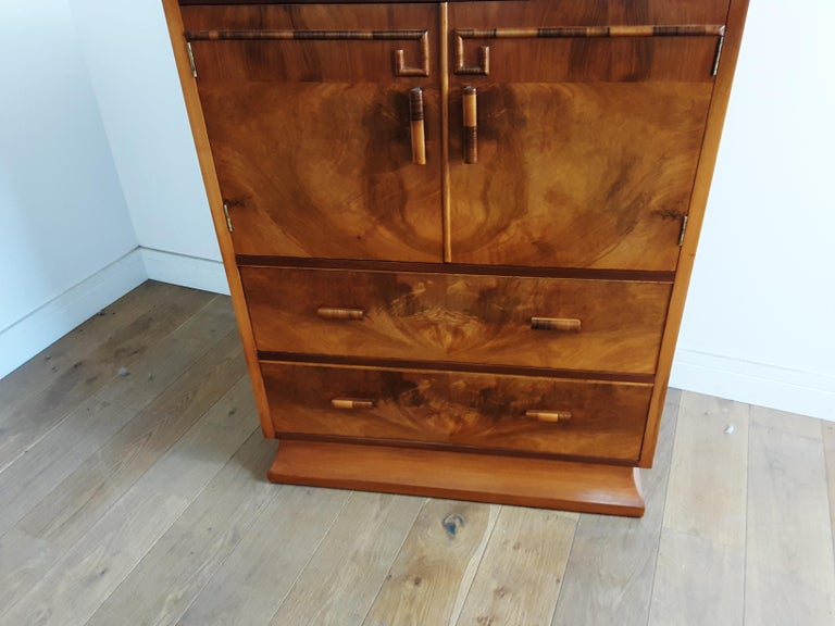Art Deco Linen Press For Sale 3