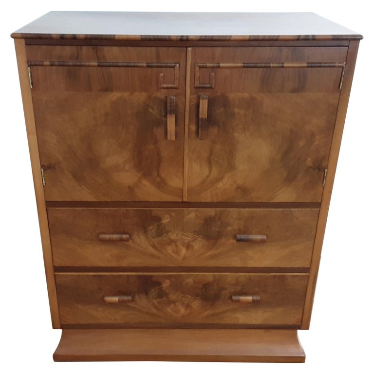 Art Deco Linen Press For Sale