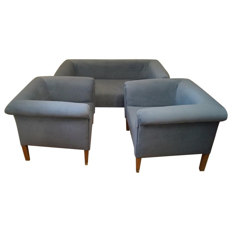 Art Deco Living Room Set from 1920 For Sale