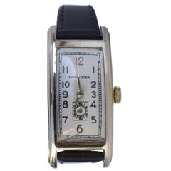 Art Deco Longines Gentleman's 10k Gold Filled Watch, circa 1936, Fully Serviced