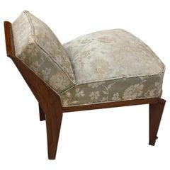 Art Deco Lounge Chair, circa 1930