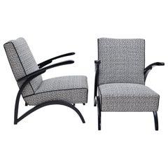 Art Deco Lounge Chairs, 1930s