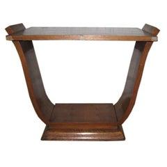 Art Deco Lyre Coffee Table