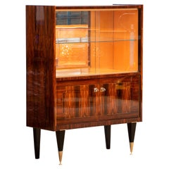 Art Deco Macassar Ebony Buffet, 1940s