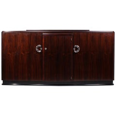 Art Deco Macassar Ebony Sideboard