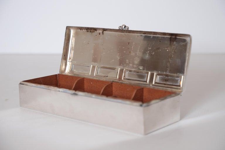 Art Deco Machine Age Albert Feinauer Barbour Silver